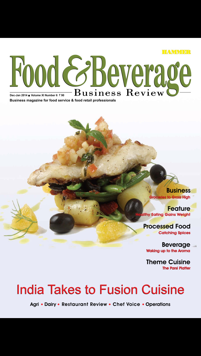 Food & Beverage Business screenshot 1
