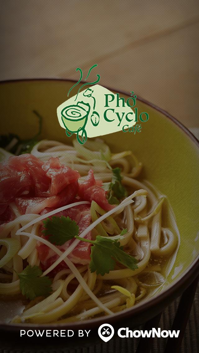 Pho Cyclo Cafe screenshot 1