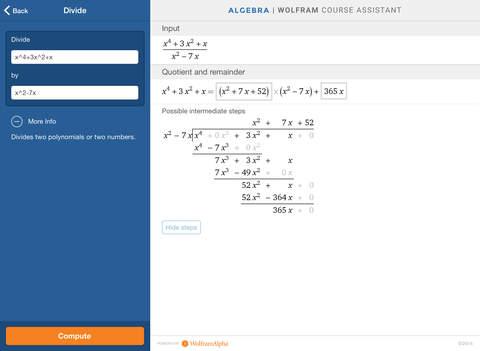 Wolfram Algebra Course Assistant screenshot 10