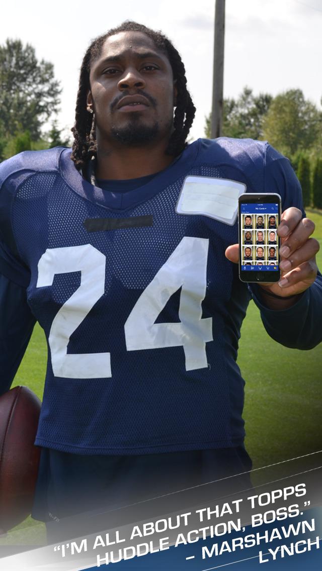 Topps NFL HUDDLE: Card Trader screenshot 1