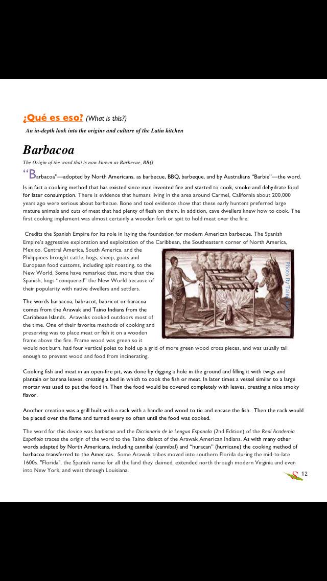 Sofrito Magazine screenshot 2