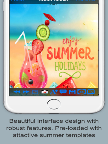 Happy Summer Greeting Cards screenshot 6