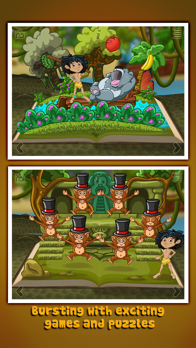 StoryToys Jungle Book screenshot 2