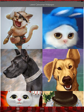 Best HD Pets Art Wallpapers for iOS 8 Backgrounds: Animal Theme Pictures Collection screenshot 6