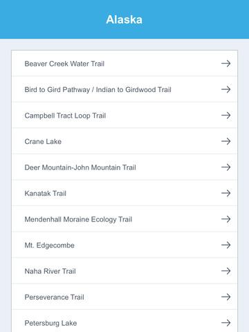 Alaska National Recreation Trails screenshot 7