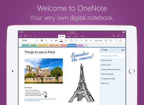 OneNote (Retired) screenshot 1