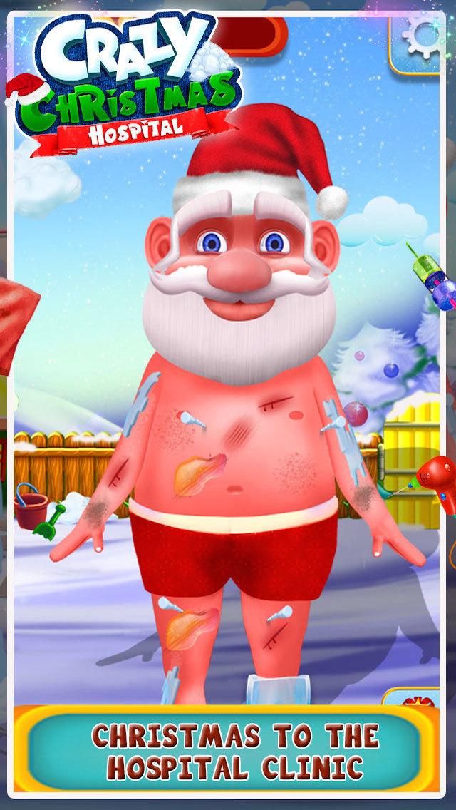 Crazy Christmas Hospital screenshot 2