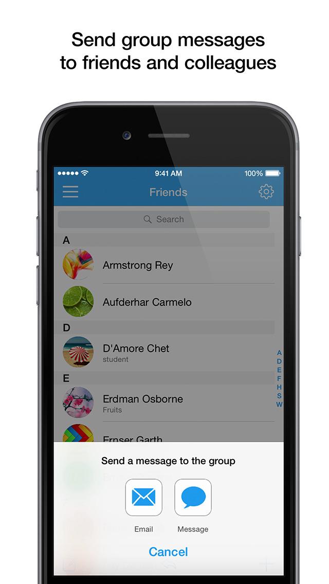 PhoneBook - Сontact Management screenshot 2