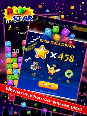 PopStar-Star Blast Puzzle Game screenshot 9
