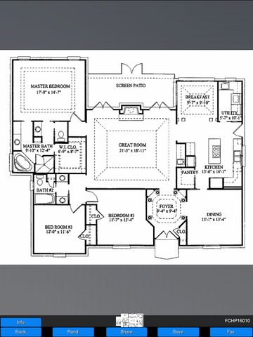 French Country House Plans screenshot 10