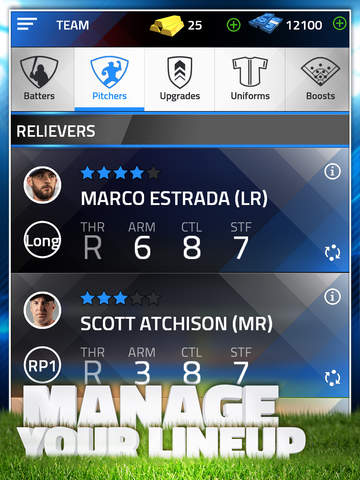 Tap Sports Baseball 2015 screenshot 9