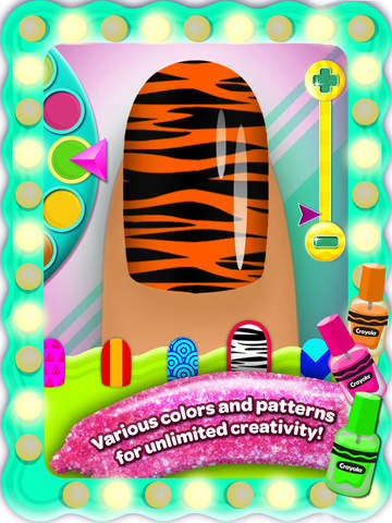 Crayola Nail Party – A Nail Salon Experience screenshot 8