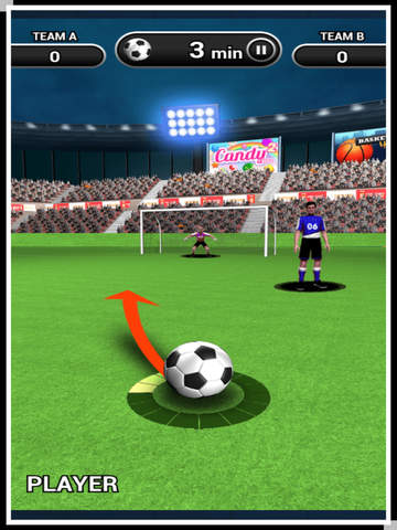3D World Soccer Free Kick screenshot 6
