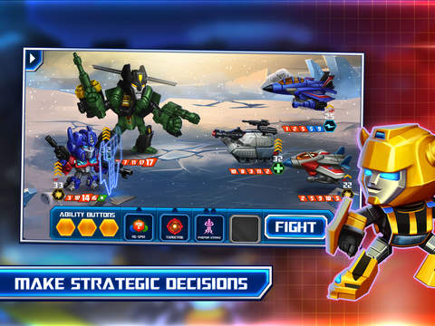 TRANSFORMERS: Battle Tactics screenshot 8