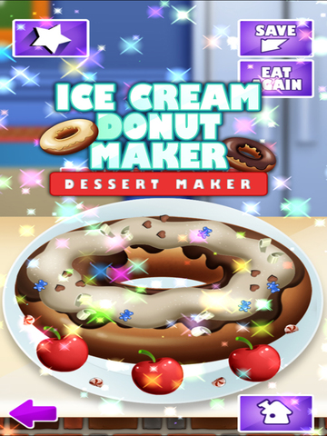 Awesome Ice Cream Donut Maker Cake Baking Dessert screenshot 6