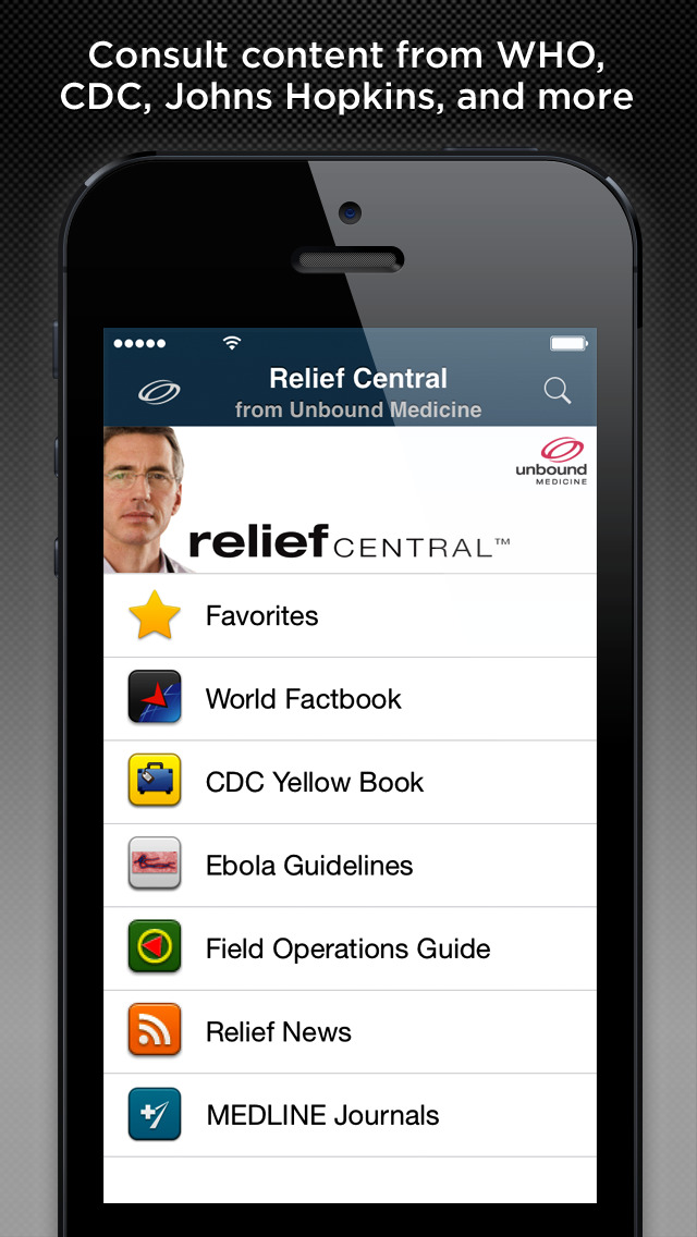 Relief Central screenshot 3
