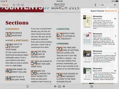 Moneywise Magazine screenshot #5