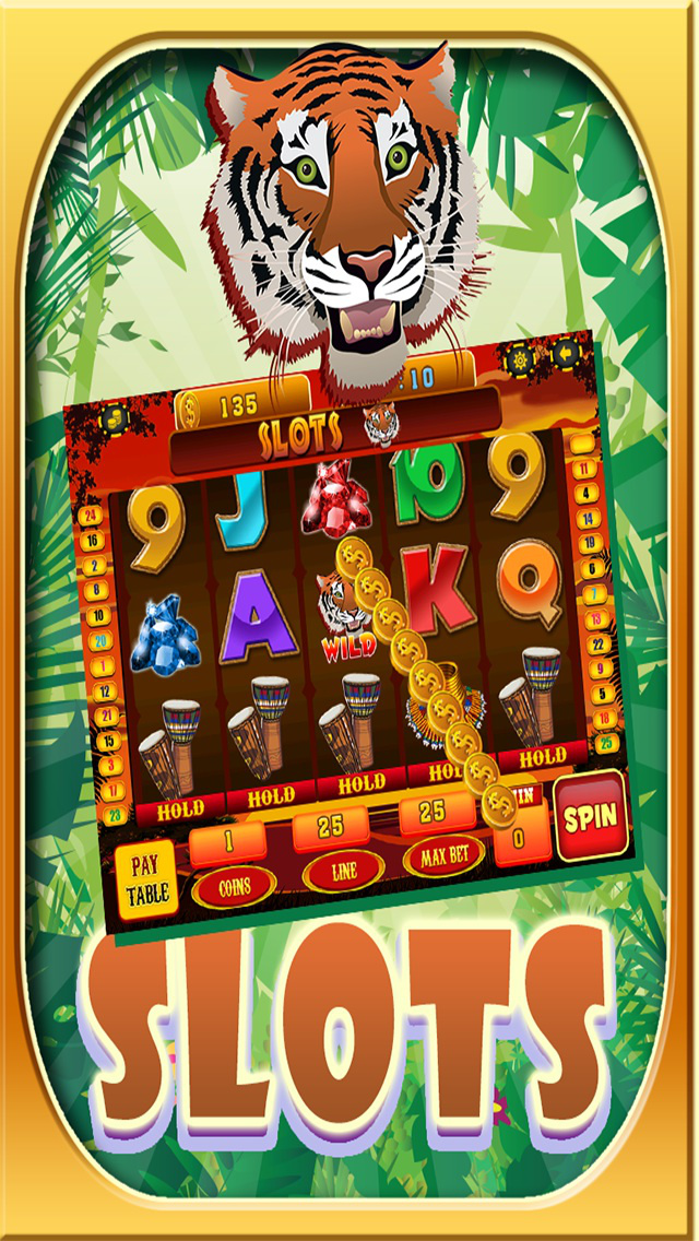Ace Slots Safari Journey HD screenshot 1