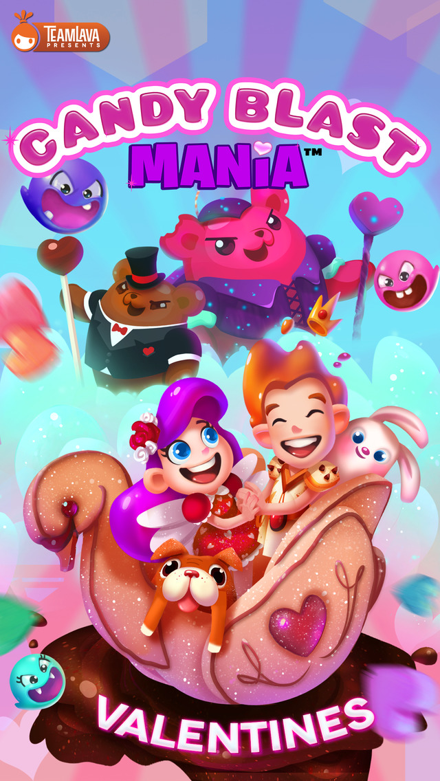 Candy Blast Mania Valentines screenshot 4