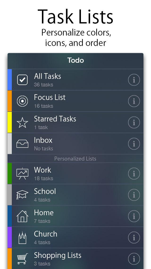 Todo - ToDo & Task List screenshot 1