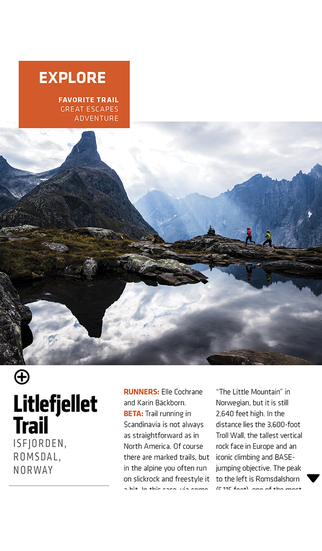 Trail Runner Magazine screenshot 3