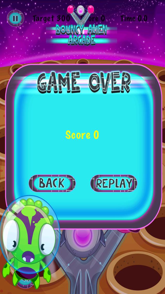 Bouncy Alien Arcade screenshot 4