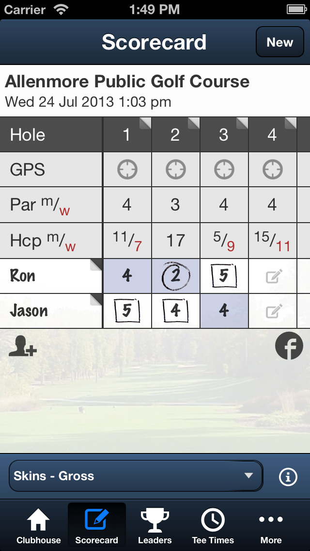 Allenmore Golf Course screenshot 4