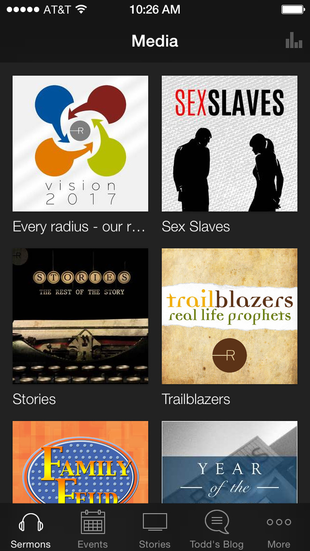 RADIUS Church screenshot 1