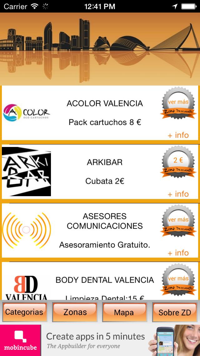Zona Descuento Valencia - descubre los mejores planes screenshot 4