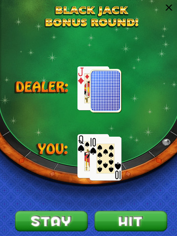 `Lucky Gold Vegas 777 Slots - Slot Machine with Casino 21 Blackjack, Prize Wheel screenshot 7