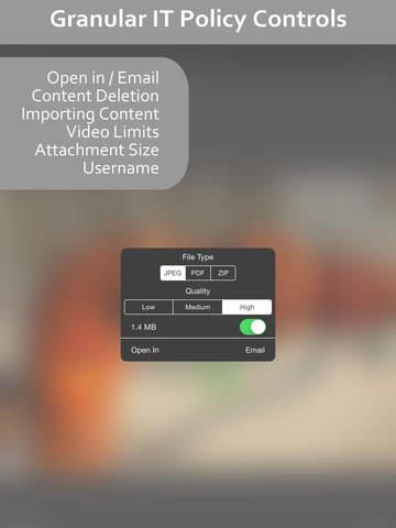 CAPTOR for Enterprise screenshot 8