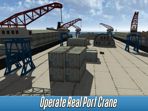Harbor Tower Crane Simulator 2017 Full screenshot 7