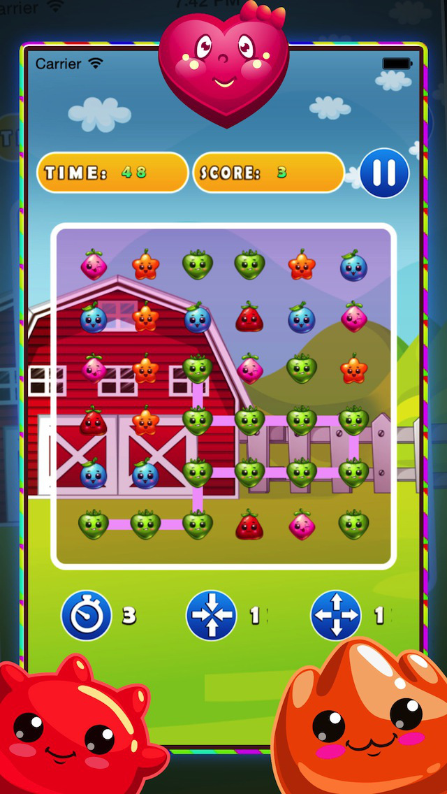 Jelly Gem Mania - Fun Puzzle Game screenshot 2