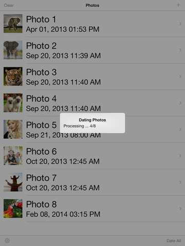 Photo Date & Photo Time Stamp Camera - Add Date & Timestamp to One or All Photos screenshot 9