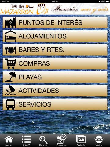 Guía oficial de Mazarrón screenshot 7