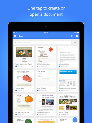 Google Docs: Sync, Edit, Share screenshot #1