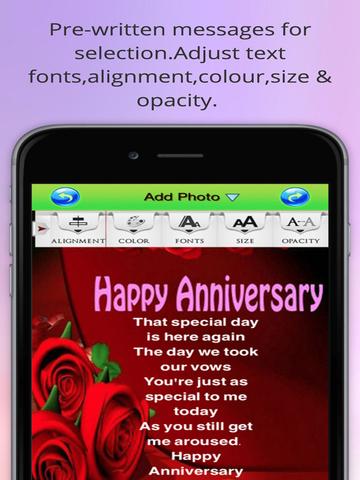 Best Anniversary Ecards.Happy Anniversary Greeting Cards screenshot 9