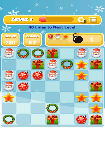 Xmas Match 4 Game screenshot 8