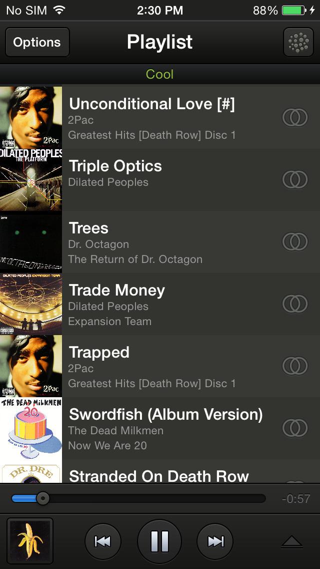 HABU music screenshot 2