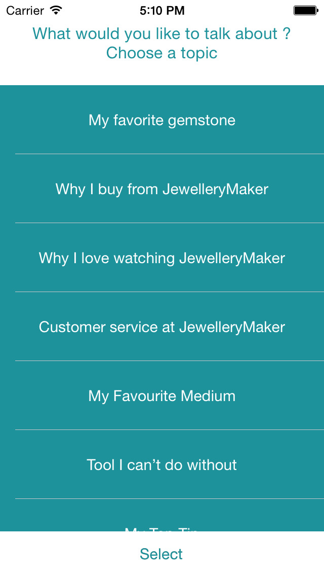 Jewellery Maker Viewer's Voice screenshot 2