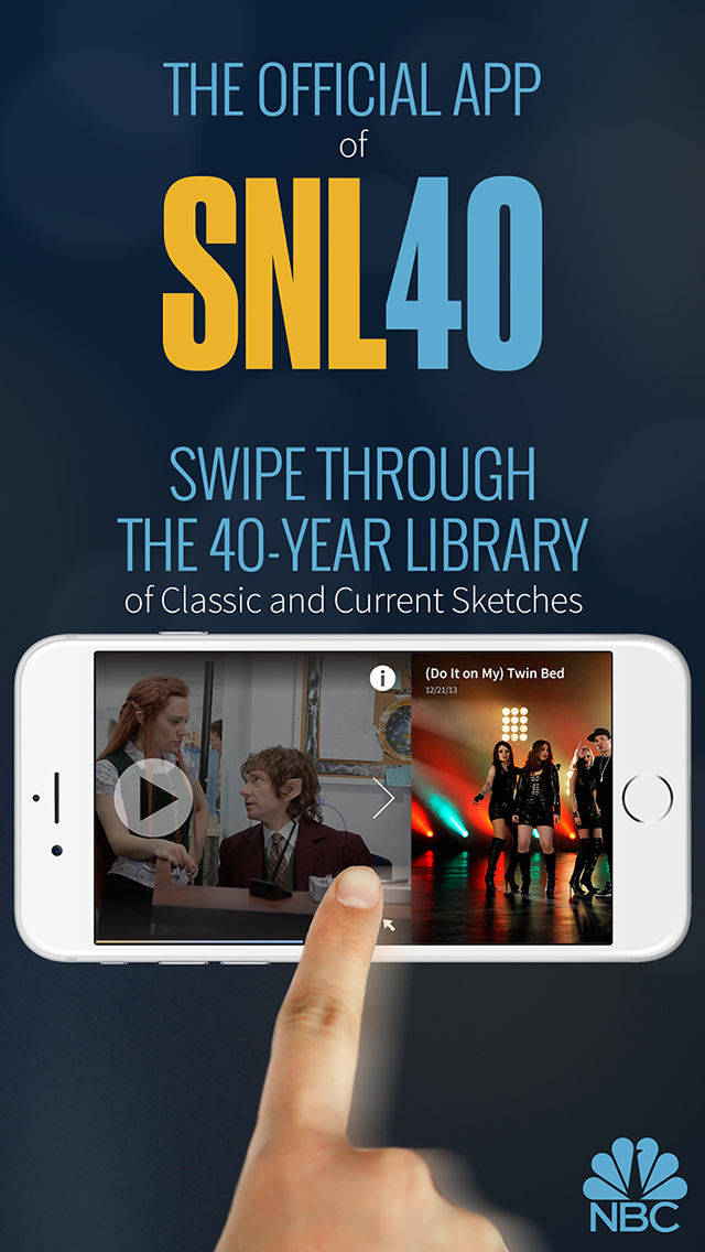 SNL: The Official Saturday Night Live App from NBC screenshot 1