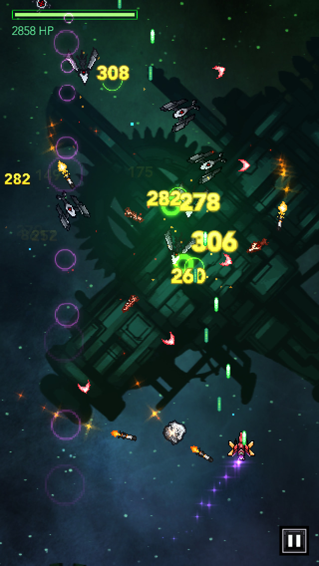 Gemini Strike: Space Shooter screenshot #4