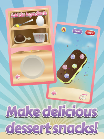 Awesome Delicious Ice Cream Frozen Dessert Food Maker Free screenshot 4