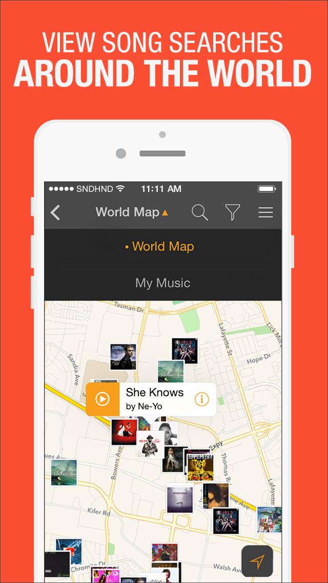 SoundHound - Music Discovery screenshot 5