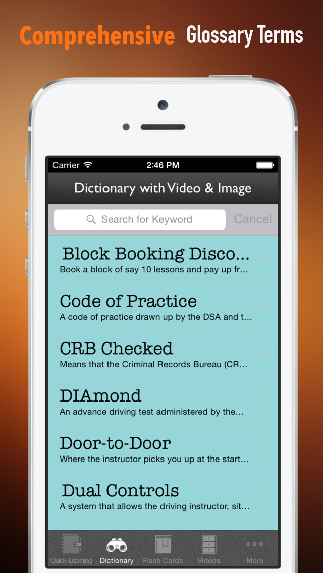 US Driving License Test 101: Reference with Glossary and Video Guide screenshot 3