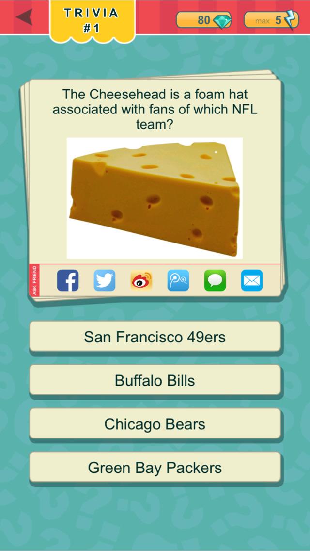 Trivia Quest™ Sports - trivia questions screenshot 1