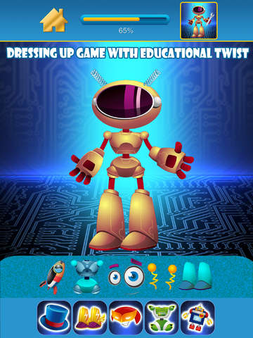My Awesome World of Little Robots Draw & Copy Game Pro - Dress Up The Virtual Power Robot Hero For Boys - Advert Free screenshot 7