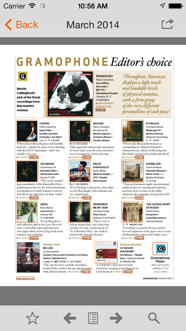 Gramophone Magazine screenshot 2