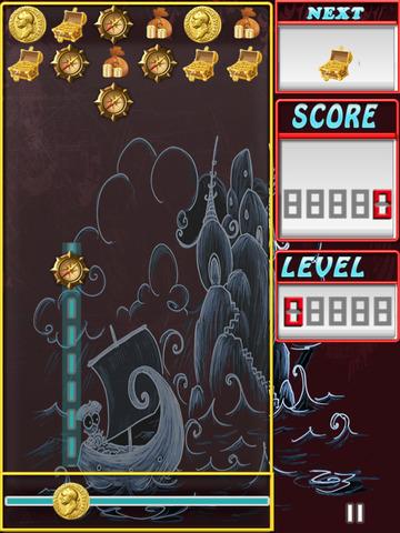 Free Match 3 Game Pirate Treasure Challenge screenshot 7