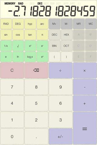 fdiv - Cute Calculator - náhled